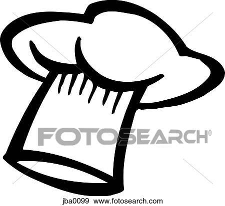 chefu0027s hat bu0026w
