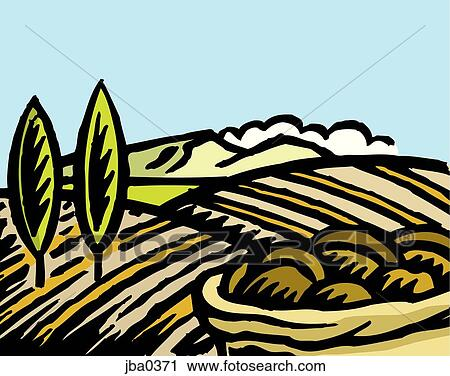 Field Crops Clipart Clipart Crop Field