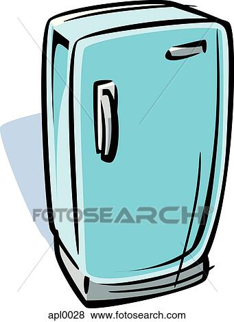 kühlschrank zeichnung
