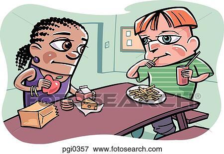 Vaschetta patatine e fritti monouso in carta kraft rettangolare. - 4Food
