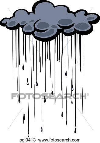 Interesting Rain Cloud Drawing 2 Throughout Design