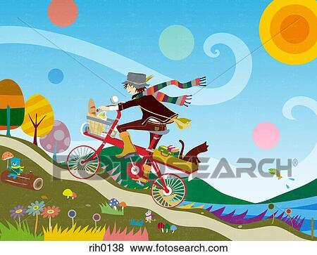 自転車の 自転車 イラスト eps 無料 : Animal Trough Clip Art