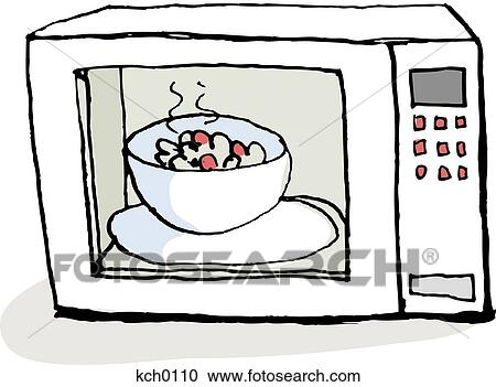 stock illustrations of food heating up in a microwave kch0110 rh fotosearch com dirty microwave clipart microwave clipart images