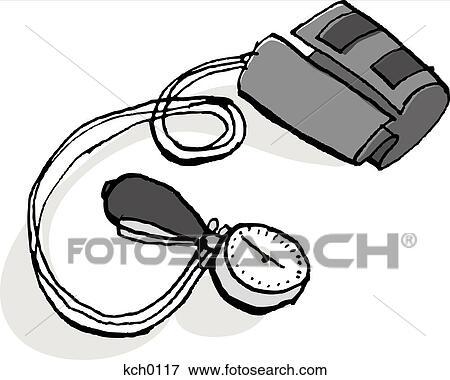 Blood Pressure Cuff Cartoon A blood pressure monitorBlood Pressure Cuff Cartoon