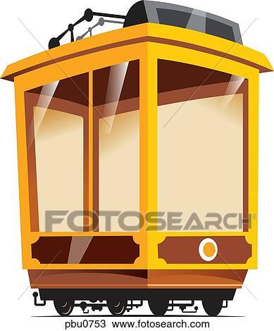 手绘图 - 一, 空, 火车汽车