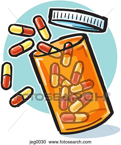 stock illustrations of a bottle of pills jeg0030 search clipart rh fotosearch com Writing Center Clip Art Draped Jacket Clip Art