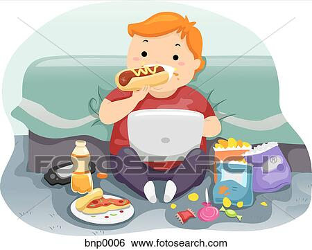 Child eating Illustrations and Clipart. 1,522 child eating royalty ...