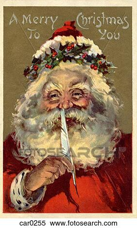 Old Fashioned Christmas Postcards