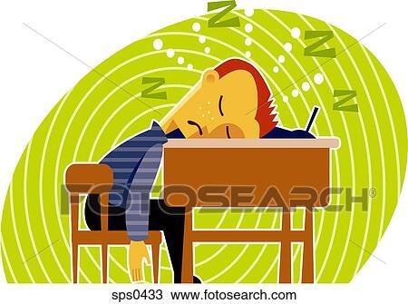 Desenho um menino dormir em seu escrivaninha for Mobilia zoo