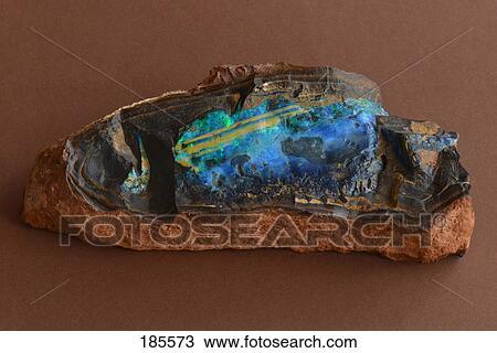 Unpolished Opal Unpolished Boulder Opal