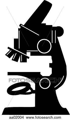 Drawing microscope fotosearch search clip art illustrations wall