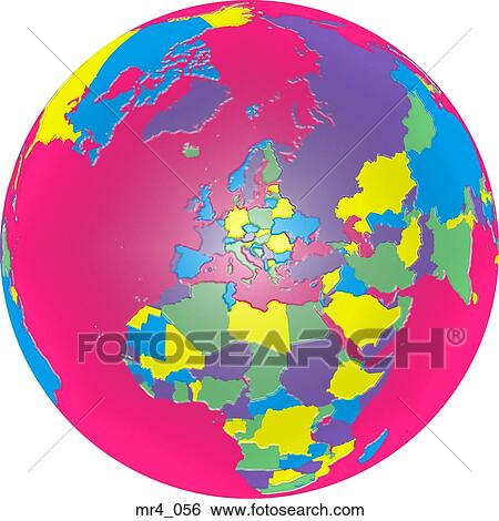 Stock images of middle east asia map globe europe africa stock image middle east asia map globe europe africa gumiabroncs Images