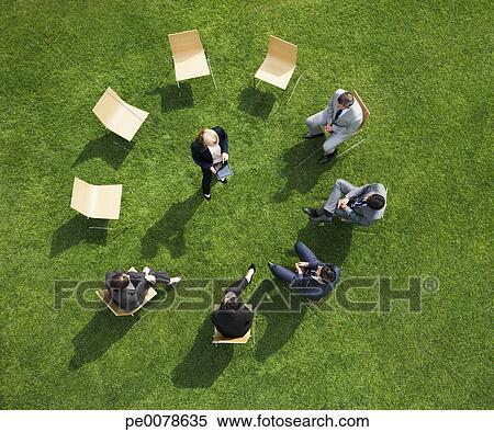 Reunião com o agricultor livre