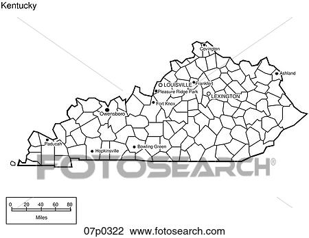 Kentucky Counties Map Kentucky Counties - County map of kentucky