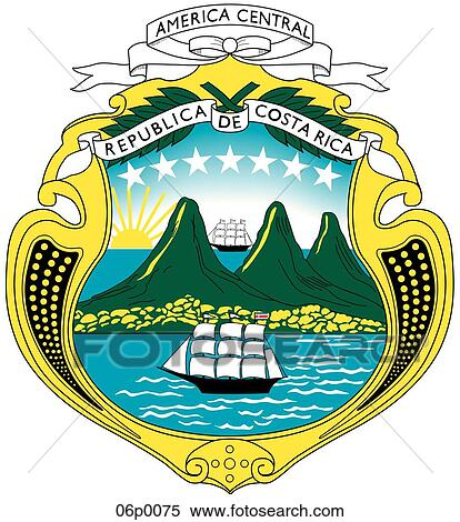 Clipart of costa rica 06p0075 - Search Clip Art ...
