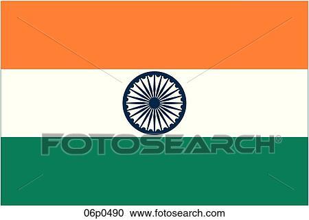 Clip Art India Clipart india clip art eps images 38730 clipart vector flag