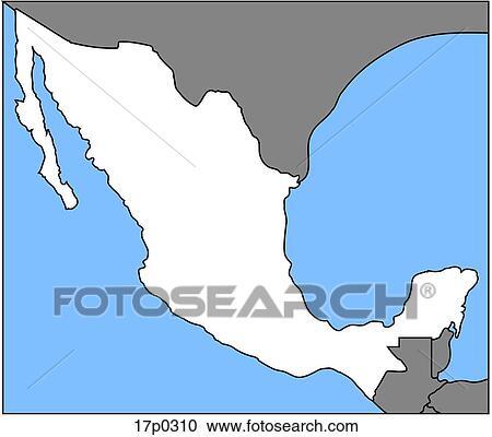 mapa clipart   Template