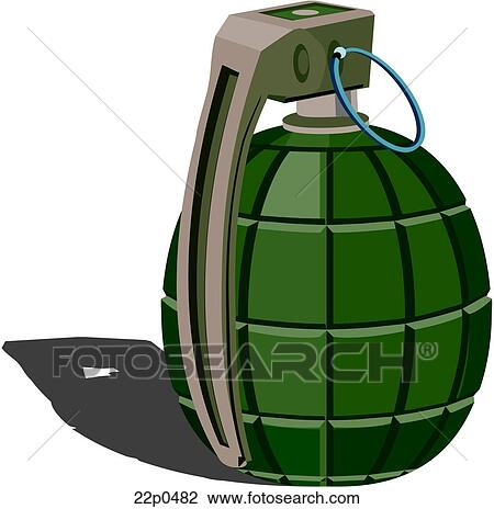 clipart of grenade pineapple 22p0482 search clip art illustration rh fotosearch com Grenade Clip Art Black and White grenade clipart