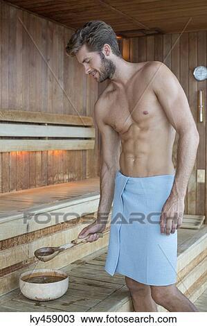 mann keusch halten midsommerland sauna