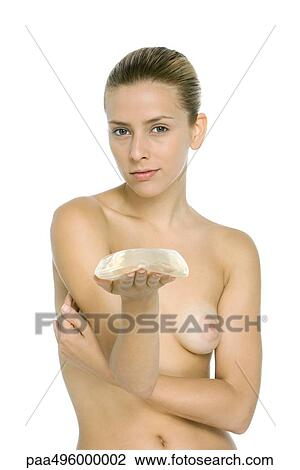 Nude stock photo