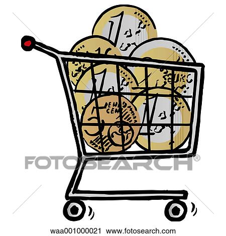 Clipart of trolleys, change, upheaval, evolution, 2002, everyday ...