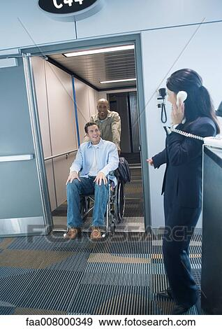 Attendant passes disabled movie