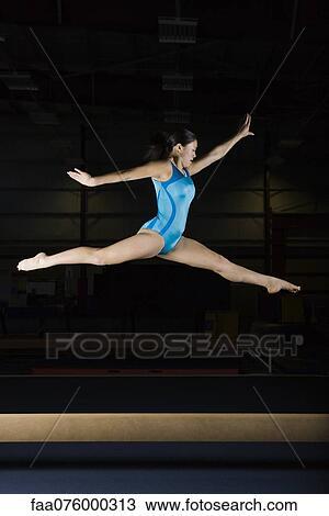 Nouvelles Photos : Une quipe amricaine de gymnastique