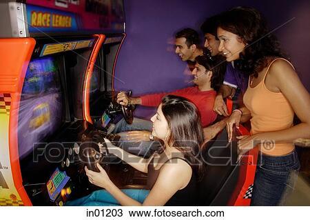 Jeu d'arcade adulte