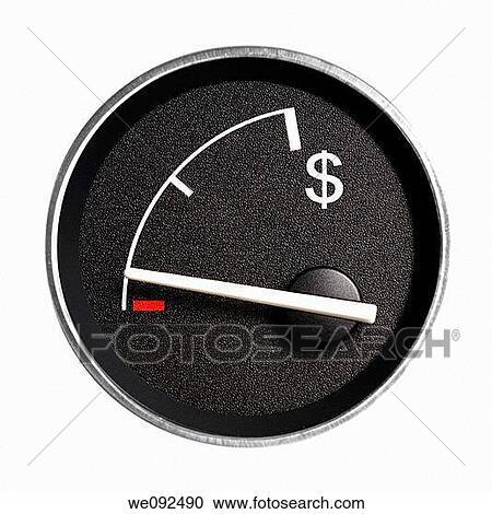 Fuel Gauge Symbol Stock Photography of F...