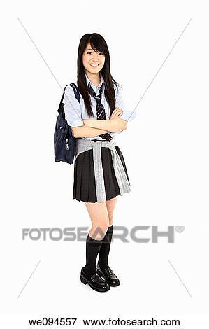 Immagine ritratto di uno asiatico femminile for Vestito tradizionale giapponese femminile