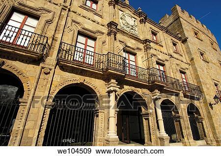 Archivio fotografico revillagigedo palazzo costruito for Contemporaneo costruito ins