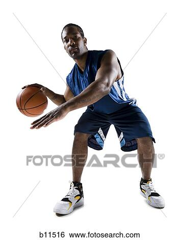 Stock images of basketball player b11516 search stock for Deke or juke