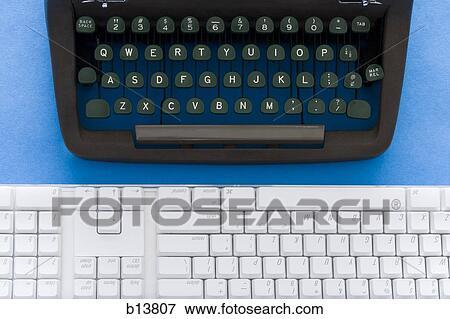 image vieux machine 233 crire et moderne clavier b13807 recherchez des photos des images