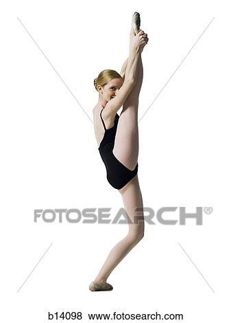 Images adolescent ballerine dans collant b14098 for Collant mural francais