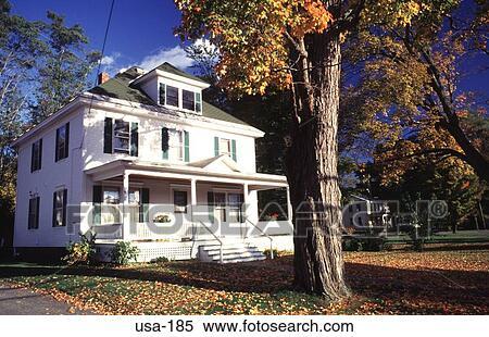 banque d 39 image blanc bois construction maison new hampshire usa usa 185 recherchez des