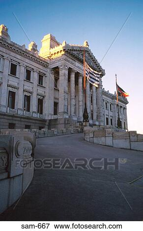 Picture of palacio legislativo parliament montevideo for Portico uruguay