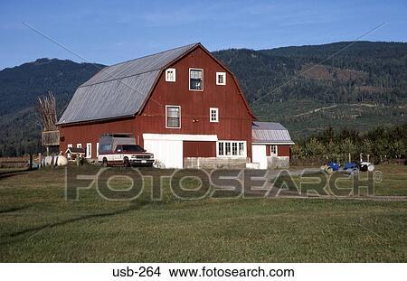 Dutch Style Farmhouse Washington State USA