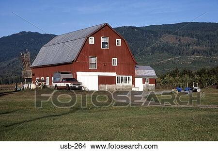 Dutch Style Farmhouse Washington State USA