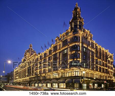 Stock Photography of Harrods, London, England 1450r-738a - Search Stock Photos, Pictures, Wall ...
