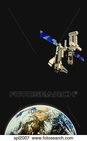 sky view in space station - photo #2