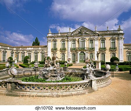 Banque de photo 18e si cle palais national rococo for Architecture 18e siecle france