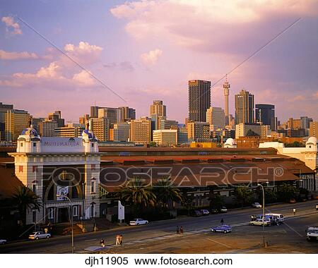 Stock image of johannesburg skyline witwatersrand gauteng stock image johannesburg skyline witwatersrand gauteng transvaal south africa fotosearch thecheapjerseys Choice Image