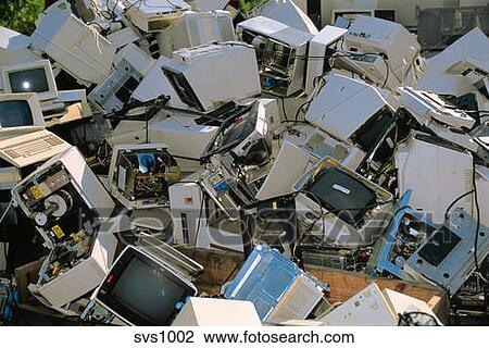 Stock Photo Junk Pile