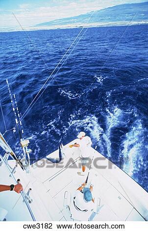 Stock photo of deep sea fishing off kona coast of hawaii for Kona deep sea fishing