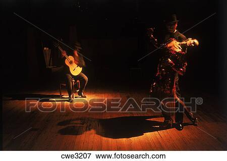 Image coupler danse guitare musique tango for Musique barre danse classique gratuite