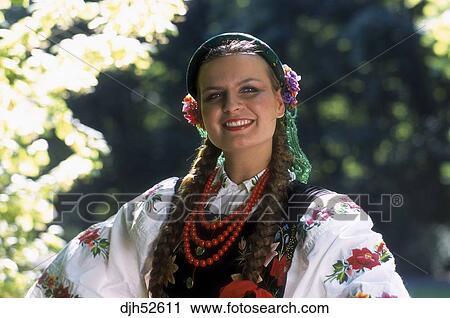 deguisement femme polonaise
