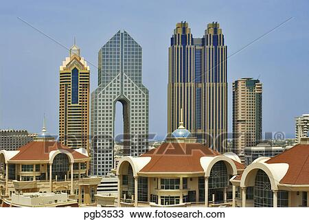 Stock Photo Of Al Murooj Rotana Hotel Apartments Arch Of
