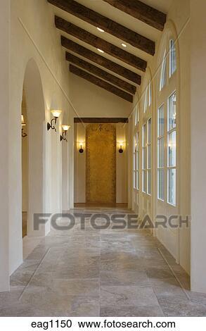 banques de photographies plancher pierre et couloir int rieur clairage accessoires. Black Bedroom Furniture Sets. Home Design Ideas