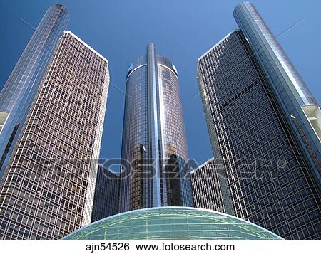Stock Images Of Detroit Mi Michigan Motor City