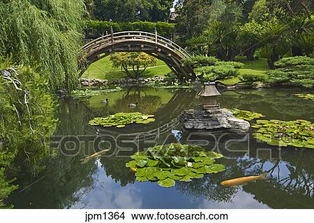 Stock Photo   Tucked Within The Winding Streets Of Pasadena Is Home To The  Huntington Library